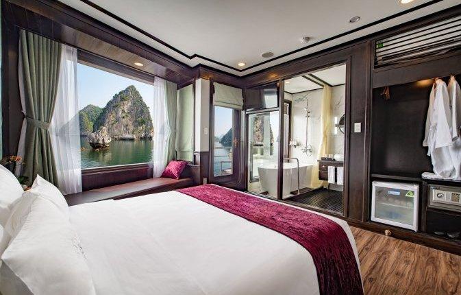 Premium Deluxe Cabin With Balcony